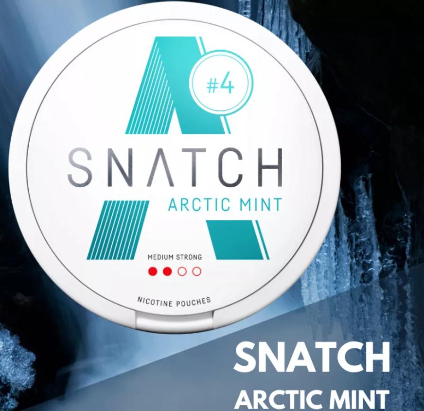 Arktinen minttu on raikas tupakoinnin lopettamisen avuksi tarkoitettu tuote.
