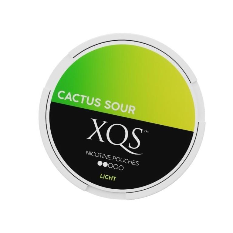 Ruotsalainen XQS Sour Cactus 4mg nikotiininuuska.