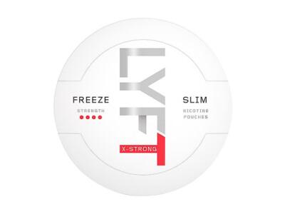 Kuvassa Lyft Freeze nikotiinipussipakkaus.