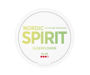 Kuvassa Nordic Spirit Elderflower nikotiinipussipakkaus.