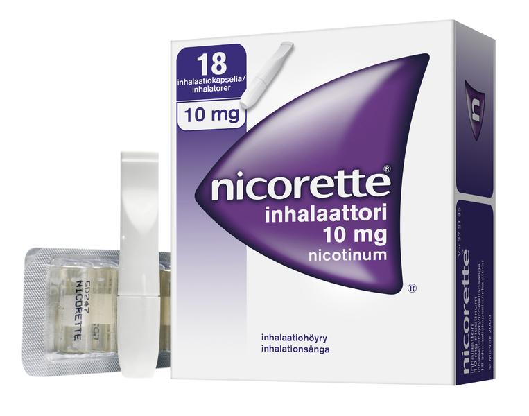 Nikotiini inhalaattori